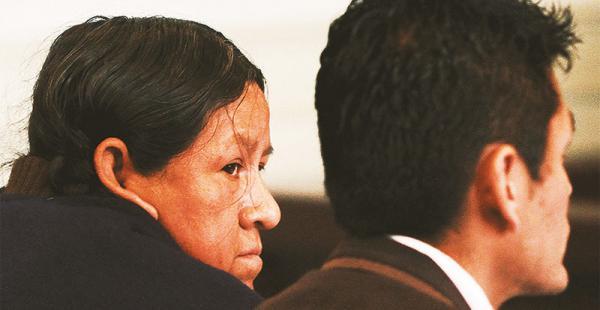 La exministra Achacollo está detenida por el caso del Fondo Indígena