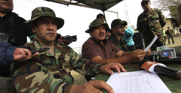 El viceministro de Defensa Social y Sustancias Controladas, Felipe Cáceres, hizo el anuncio de la nueva ley