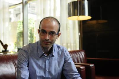 El escritor israeli Yuval Harari. Foto: Diego Waldmann