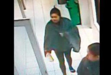 Esta es la imagen de la presunta raptora