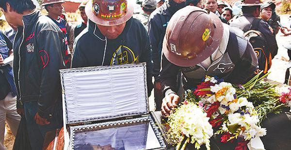 Durante las protestas hubo seis muertos, de ellos cinco mineros