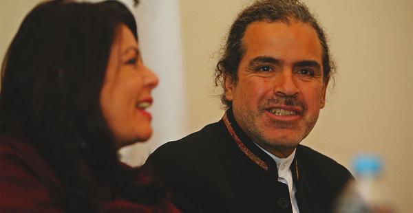 El vicecanciller Juan Carlos Alurralde participó de una reunión de países amazónicos en el hotel Los Tajibos