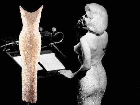 """Subastan vestido con el que Marilyn Monroe cantó """"Happy Birthday Mr President"""". Foto: www.sensacine.com"""