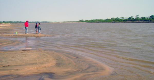 Imagen referencial. El río Mamoré en la amazonía boliviana fue escenario de una tragedia familiara