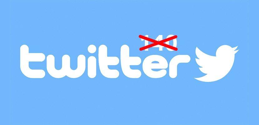 Twitter sin límite de 140 caracteres