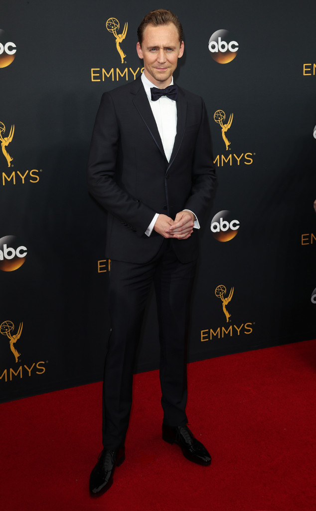 Tom Hiddleston, 2016 Emmy Awards, Arrivals