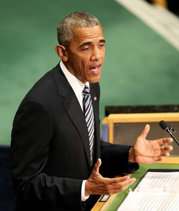 Barack Obama habla ante la Asamblea General de la ONU. / AP
