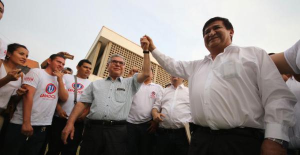 Saúl Rosas se declaró rector electo de la Uagrm