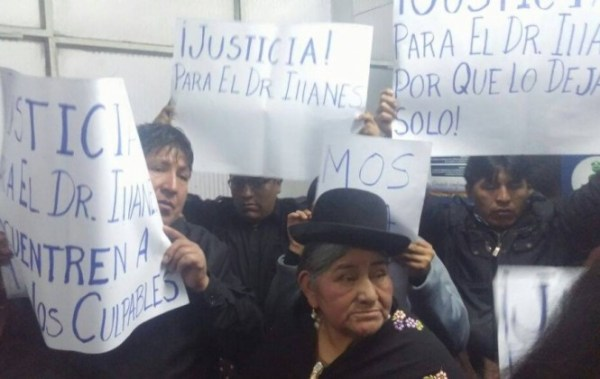 """Familiares piden a Romero, Quintana, Tezanos y otras autoridades """"dar la cara"""" por el asesinato de Illanes"""