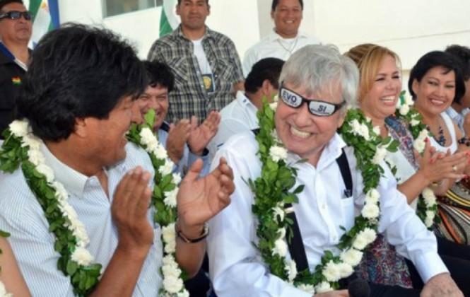 El popular Alcalde de Santa Cruz que reparte su cariño entre Goni, Evo y García Linera