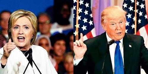 Resultado de imagen para Hillary y Trump se verán hoy las caras en un debate que podría batir récords