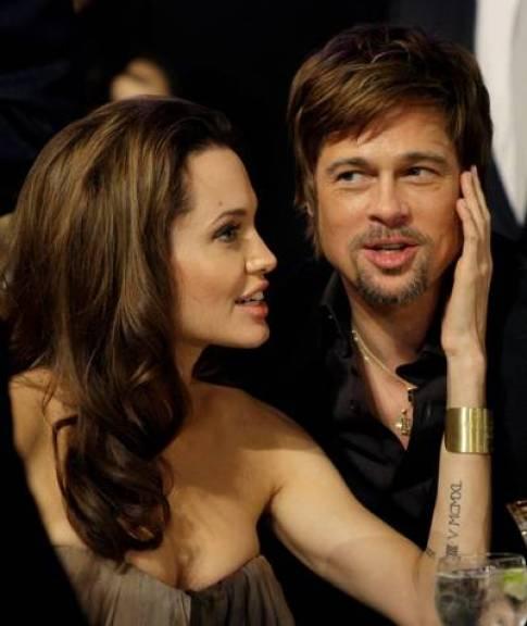 Aquellos tiempos felices de Angelina y Brad Pitt. (AP).