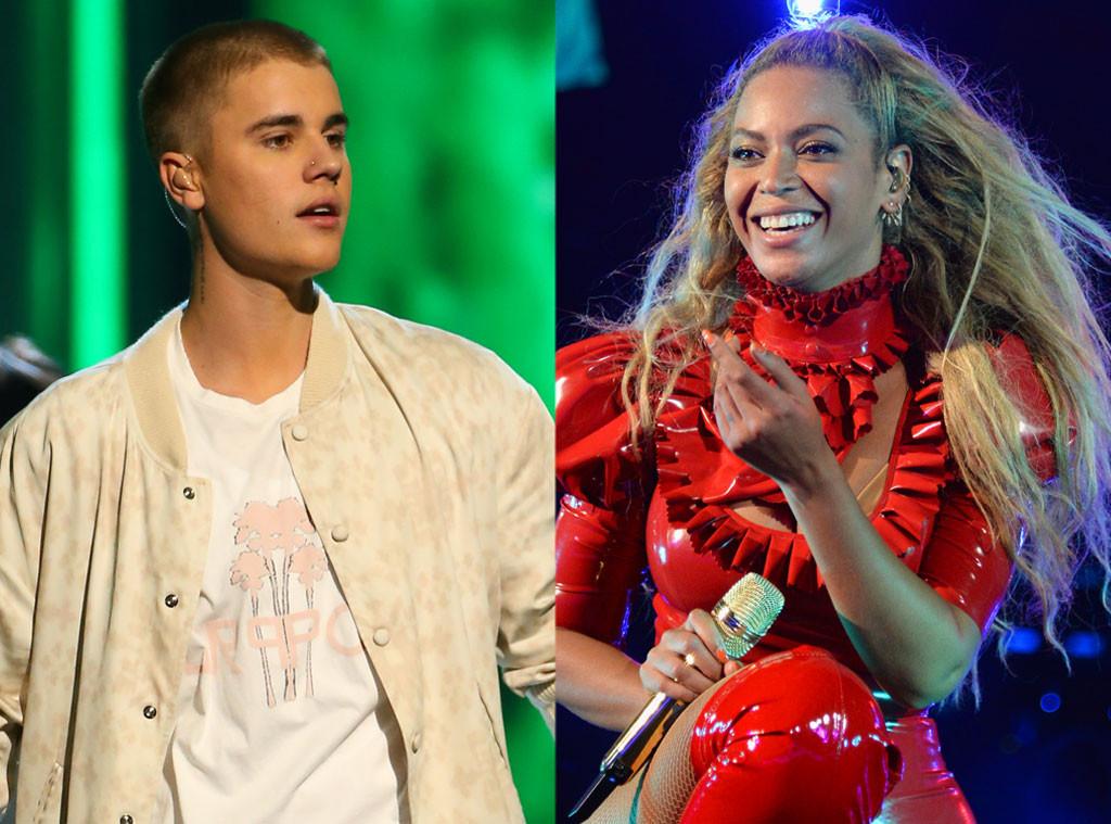 Beyonce, Justin Bieber