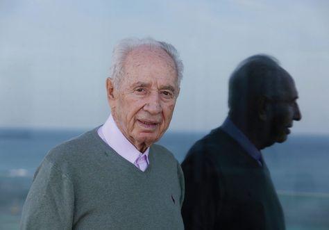 Simón Peres ha estado en el hospital desde que sufrió un derrame cerebral el 13 de septiembre.. Foto: www.theguardian.com