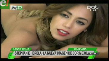 Mira la desbordante sensualidad de Stephanie Herela