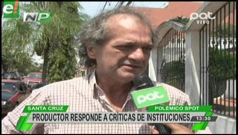 Miguel Chávez responde a las críticas sobre polémico spot