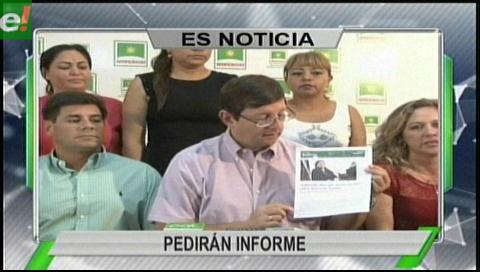 Titulares de TV: Demócratas pedirán informe al Gobierno sobre el desfalco al ex Fondioc