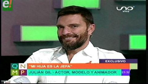 El sex symbol Julián Gil te espera en Expocruz 2016