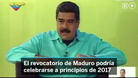 El chavismo pospone el revocatorio y se enroca en el poder hasta 2019