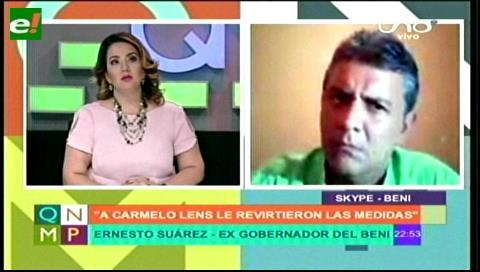 Suspenden arresto domiciliario a Carmelo Lens