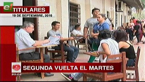 Titulares de TV:  Uagrm se alista para la segunda vuelta