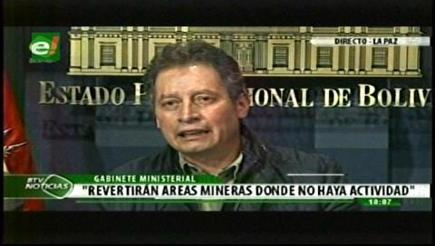 Gobierno boliviano decreta revertir concesiones de cooperativas mineras aliadas a privados