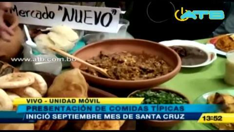 Este 20 de septiembre iniciará el festival de comidas típicas de Santa Cruz