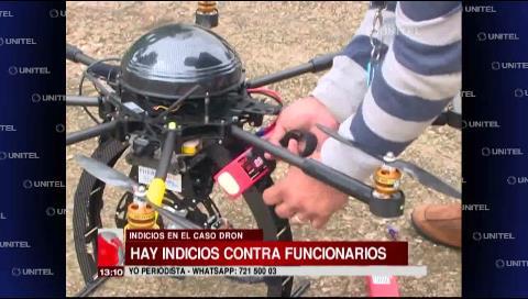 Caso dron: Informe de auditoría revela indicios contra ex y actuales funcionarios
