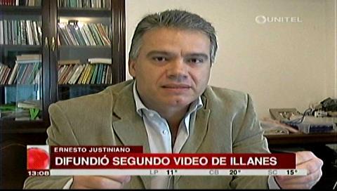 """Ernesto Justiniano: """"La pregunta es: ¿quién dejó morir a Illanes?"""""""