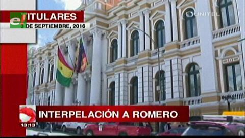 Titulares TV: Diputado del MAS anuncia una interpelación al ministro Romero por el caso Illanes