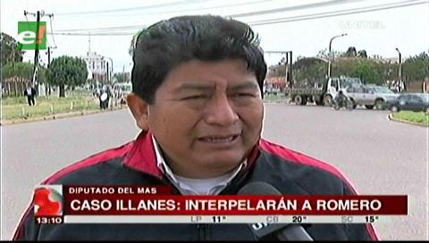 El MAS interpelará a Romero y Navarro respecto a sus actuaciones en caso Illanes