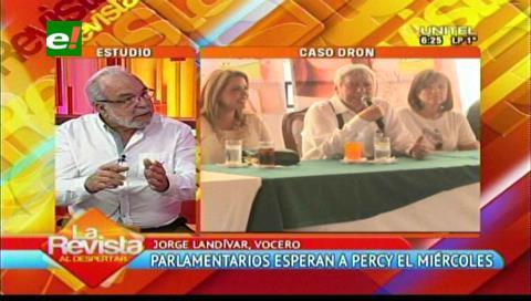 Percy no irá a la convocatoria en La Paz realizada por la Comisión de Autonomías