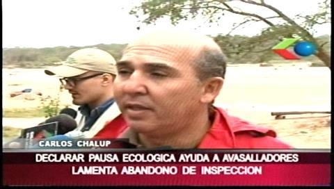 """Cámara de Áridos: """"Pausa ecológica en La Guardia expulsó a concesionarios legales y dio entrada a avasalladores"""""""