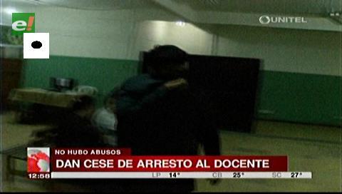 Liberan a profesor de religión acusado de abuso sexual a siete alumnas