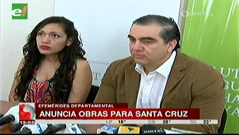 Anuncian nutrida agenda de Evo durante la efeméride departamental de Santa Cruz