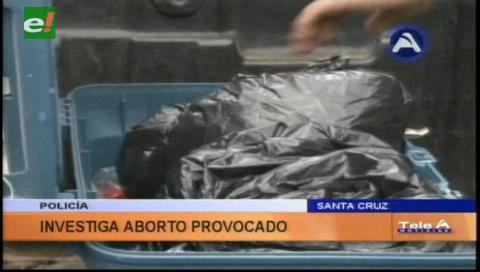 Investigan a mujer que abortó a feto de cinco meses