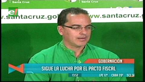 Gobernación acredita a José Luis Parada para las reuniones sobre el pacto fiscal