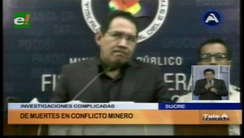 Fiscal Guerrero: Afanes de protagonismo entorpecen investigación sobre la muerte de mineros