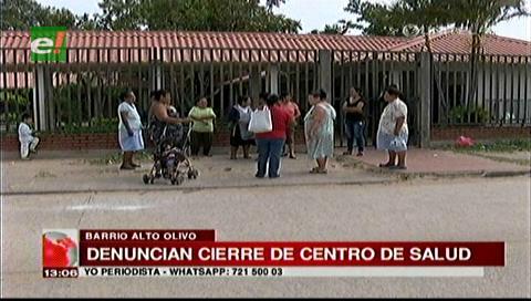Vecinos denuncian el cierre de un centro de salud en el barrio Alto Olivo