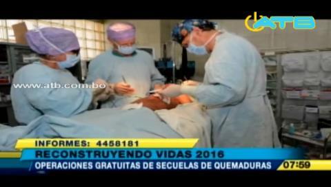 Cochabamba: Reconstruyendo Vidas operará a 200 niños quemados