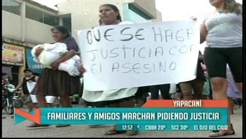 Cabildo en Yapacaní exige justicia por doble asesinato