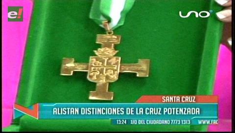 Asambleístas departamentales entregarán la cruz potenzada