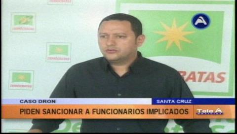 Caso dron: Diputado Dorado pide sancionar a los funcionarios implicados