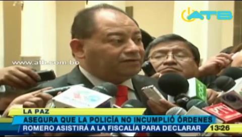 Ministro Romero afirma que la Policía no incumplió órdenes en caso Illanes