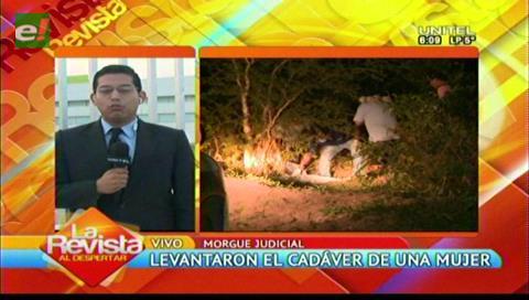 Identifican a una mujer hallada muerta en Cotoca