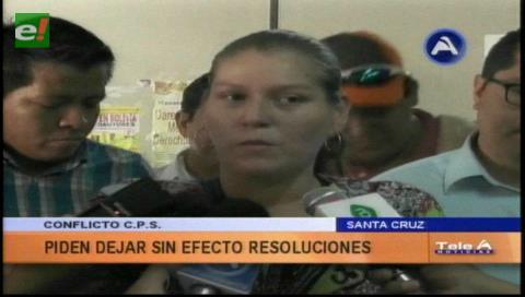 Conflicto CPS: Piden dejar sin efectos resoluciones contra los trabajadores