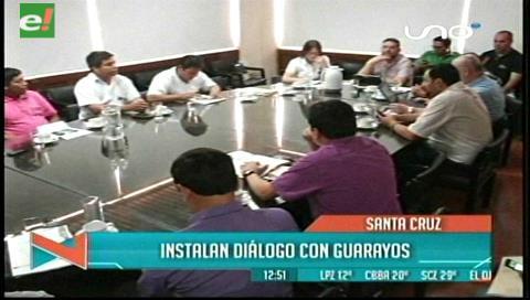 Se instala reunión entre la Gobernación y pobladores de Guarayos