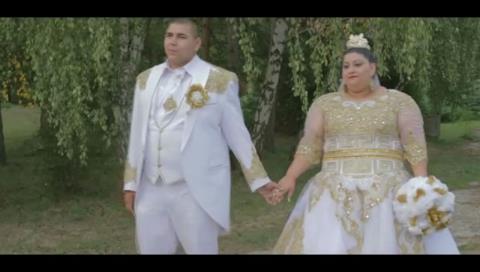 Una boda gitana regada de oro y euros deja boquiabierta a la Red