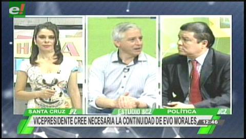 Vice apoya cambios para repostular a Evo; cree que debe permanecer hasta 2025