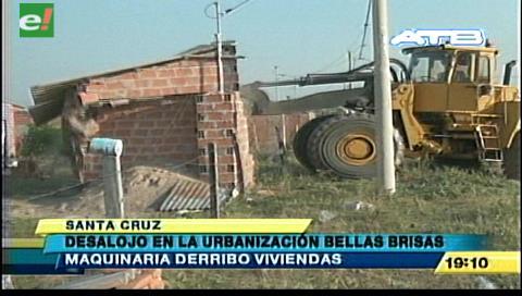 Policía desalojó a 50 familias en la Urbanización Las Brisas